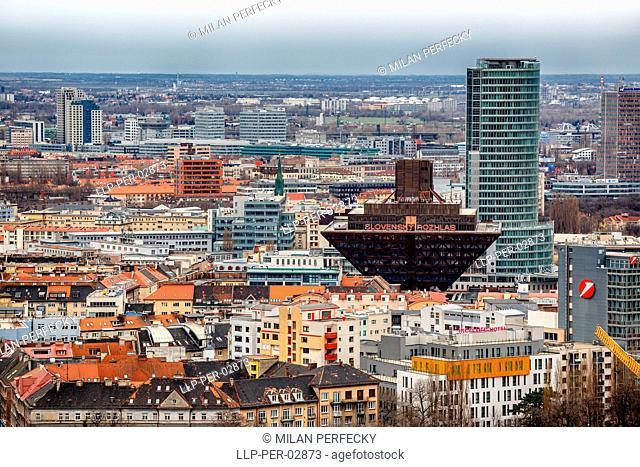 Bratislava, Slovak Radio and the National Bank