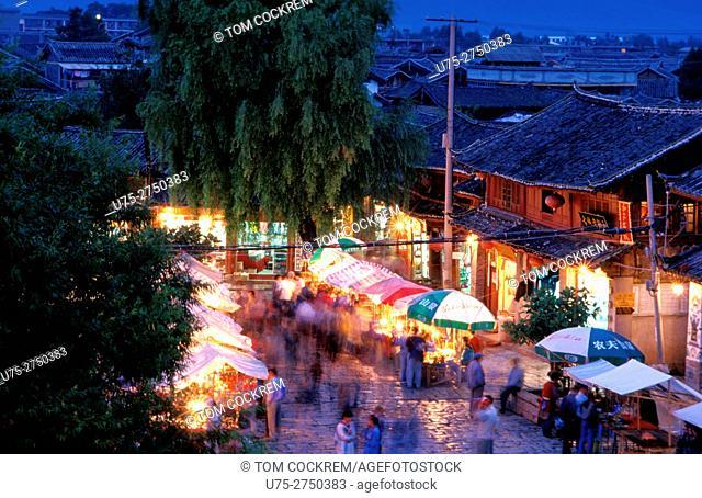 Siffang market, Lijiang, Kunming, China