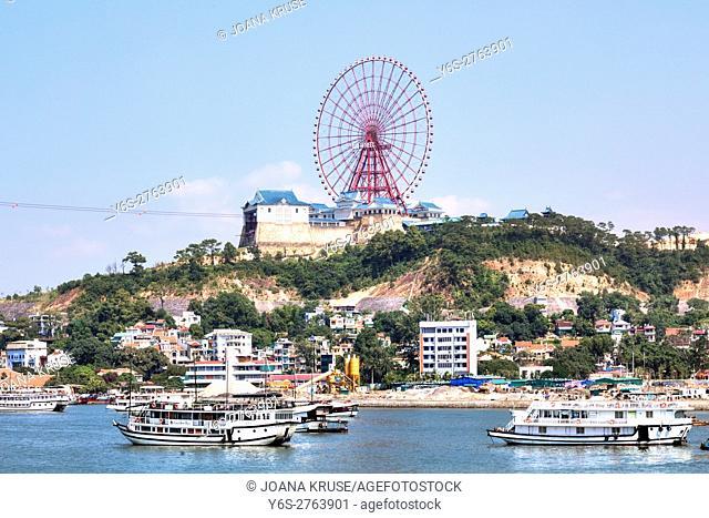 Ha Long Sun Wheel, Halong Bay, Vietnam, Indochina, Asia