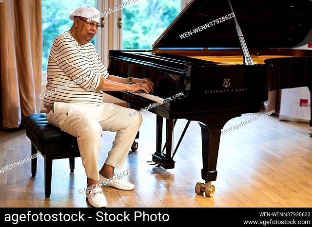Legendary Cuban musician Chucho Valdes poses during a portrait session in Madrid, Spain Featuring: Chucho Valdes Where: Madrid