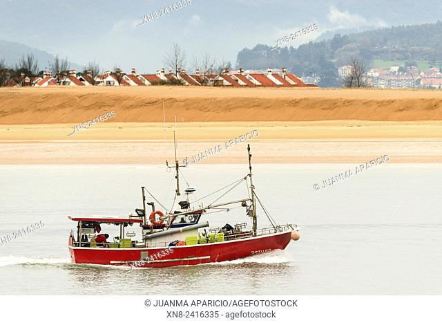 Fishing Boat, Santoña, Cantabria, Spain, Europe