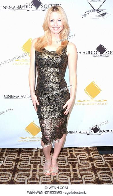 53rd Annual Cinema Audio Society (CAS) Awards at Omni Los Angeles Hotel at California Plaza - Arrivals Featuring: Jessica Morris Where: Los Angeles, California
