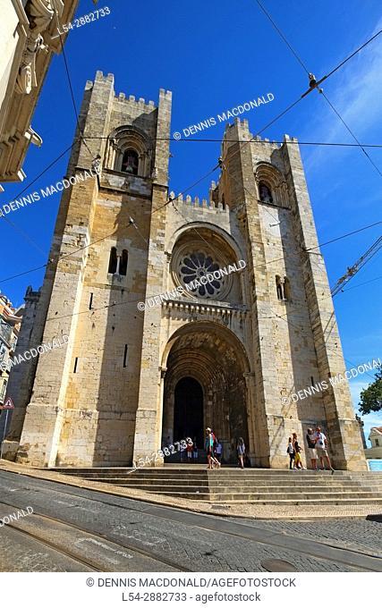 Se Cathedral Lisbon Portugal Catholic church house of prayer