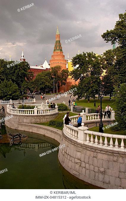 Bolshoi Theatre, interior, Moscow, Russia, Europe