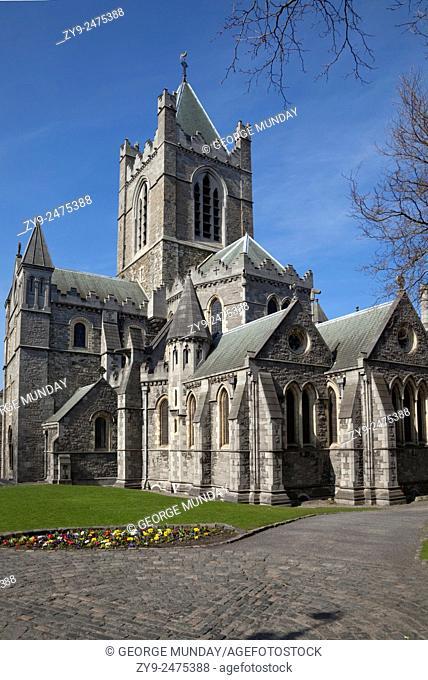 Christ Church Cathedral, Rebuilt in 1878, Dublin City, Ireland