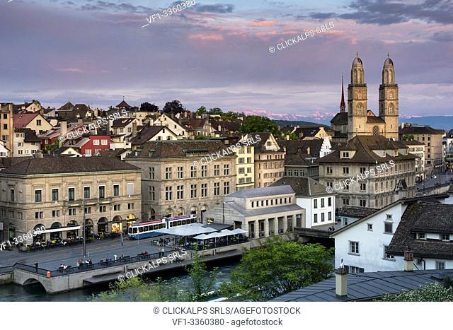 Switzerland, Zürich, Europe, canton of Zürich, Zürich district,