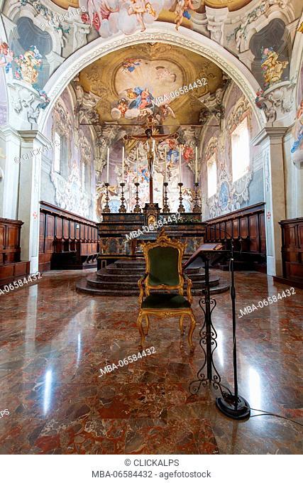 Europe, Italy, Emilia Romagna, Piacenza district, Cathedral Bobbio