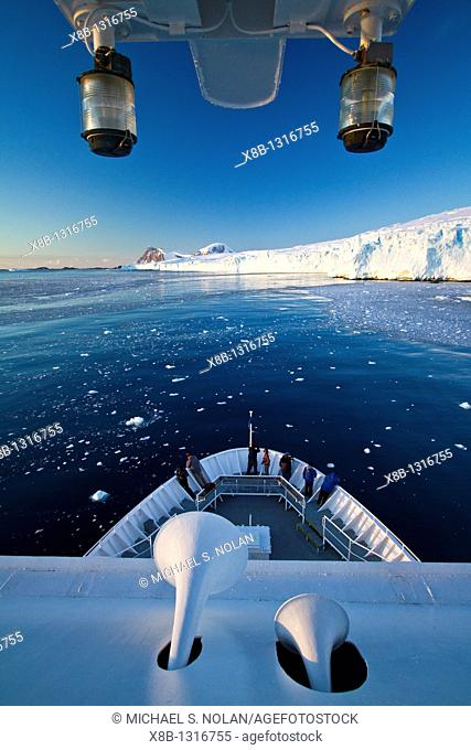 The Lindblad Expedition Ship National Geographic Explorer operating in Antarctica in the austral summer months  MORE INFO Lindblad Expeditions pioneered...