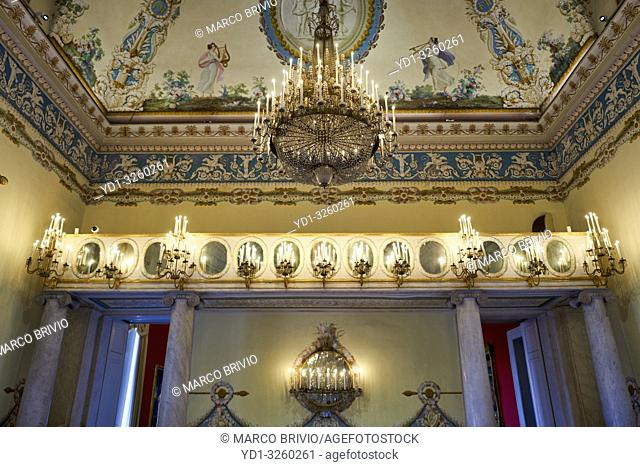 Naples Campania Italy. Museo di Capodimonte is an art museum located in the Palace of Capodimonte, a grand Bourbon palazzo in Naples, Italy