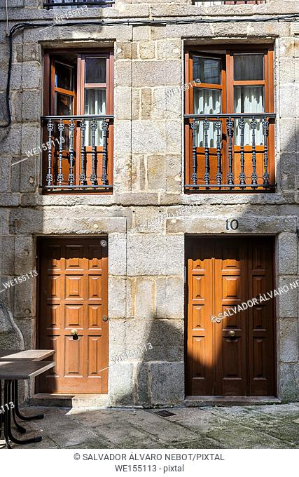 Old town of Vigo, Galicia, Spain