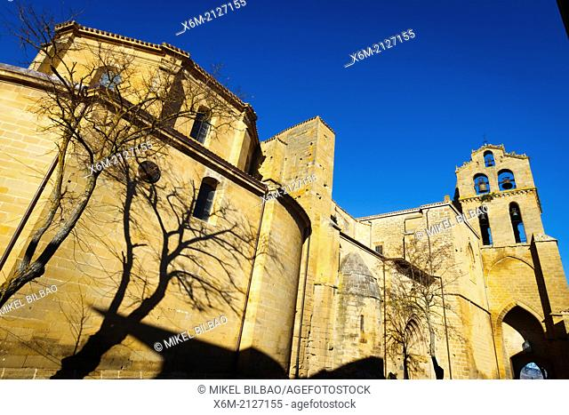 San Juan Bautista church. Laguardia. Alava, Basque Country, Spain, Europe
