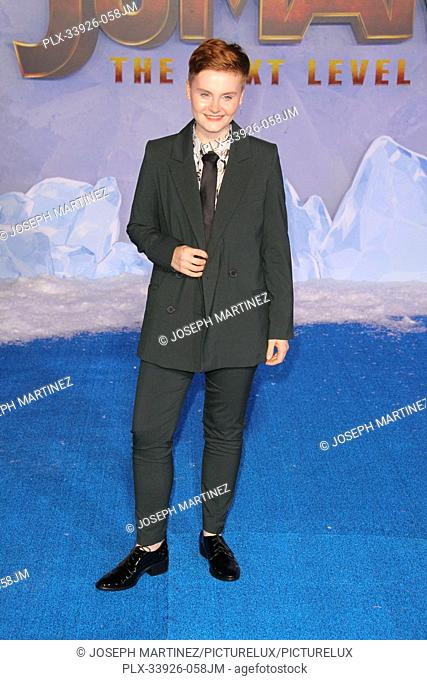 """Morgan Turner at Sony Pictures' """"""""Jumanji: The Next Level"""""""" World Premiere held at the TCL Chinese Theater in Hollywood, CA, December 9, 2019"""