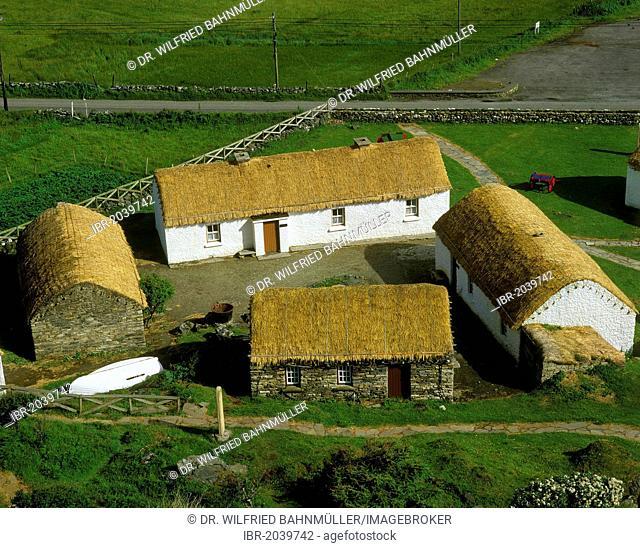 Museum of Folk Culture, Glencolumbkille, County Donegal, Republic of Ireland, Europ