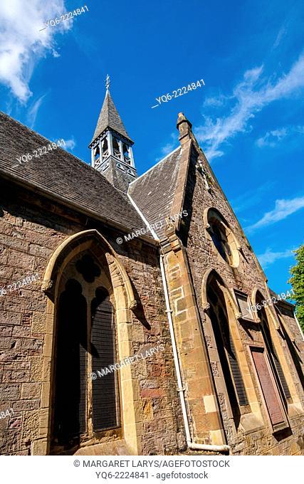 Luss Parish Church is a Church of Scotland church in Luss, Argyll and Bute