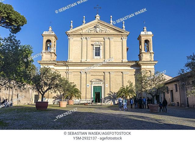 Basilica di Santa Anastasia al Palatino at Piazza di Sant'Anastasia, Rome, Lazio, Italy, Europe