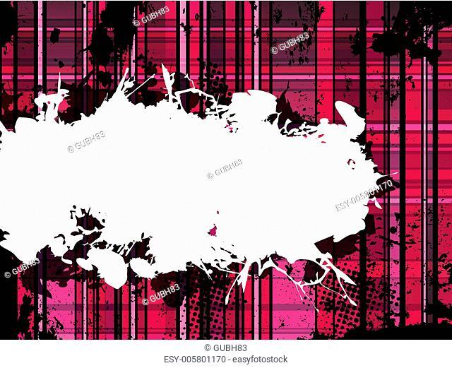 Checkered Pink Grunge Background