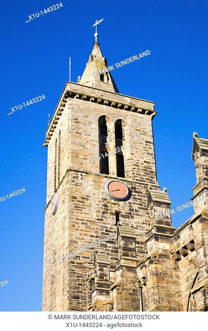St Salvators College Tower St Andrews Fife Scotland