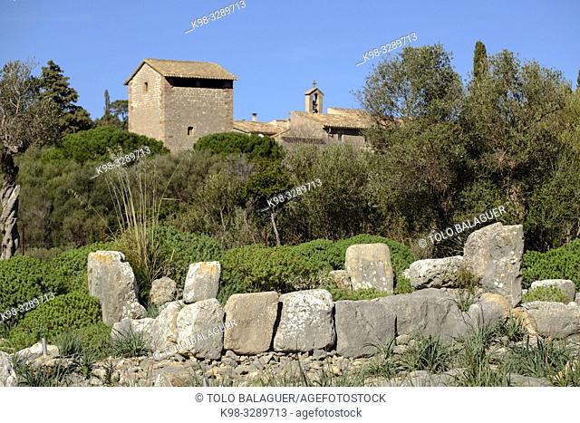 santuario talayotico de Son Mas, Valldemossa, Mallorca, balearic islands, Spain