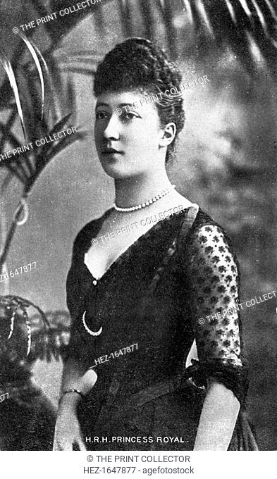 The Princess Royal, Princess Louise (1867-1931), early 20th century. Princess Louise was the third child and the eldest daughter of Edward VII and Queen...