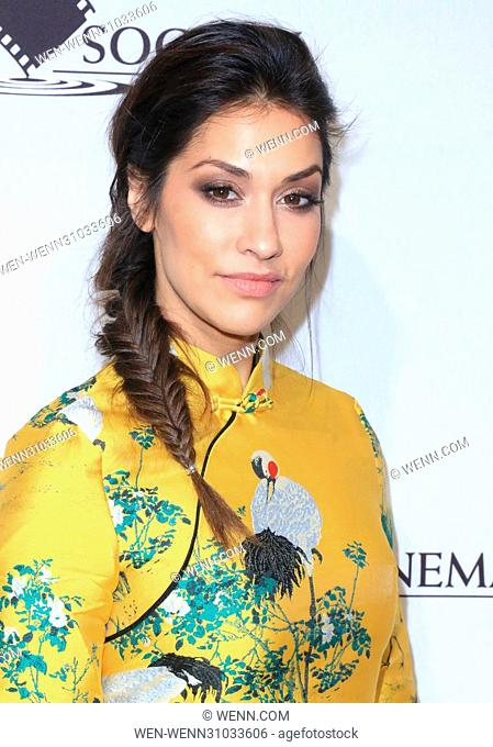 53rd Annual Cinema Audio Society (CAS) Awards at Omni Los Angeles Hotel at California Plaza - Arrivals Featuring: Janina Gavankar Where: Los Angeles, California