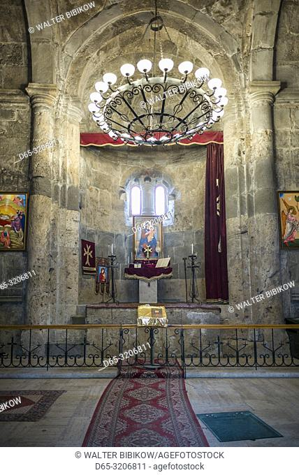 Armenia, Switzerland of Armenia area, Haghartsin, Haghartsin Monastery, 10th century, interior