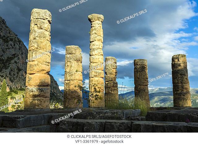 Archeological site of Delphi, Phocis, Greece