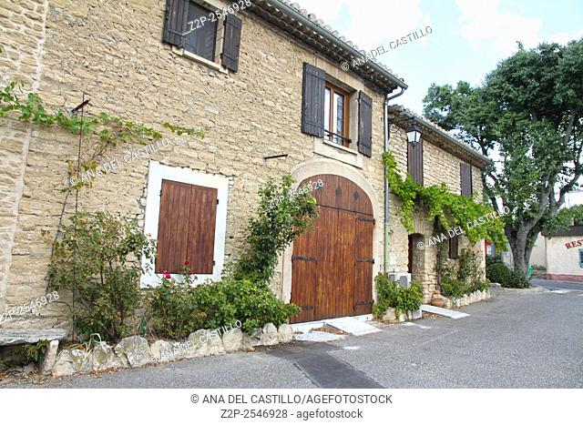 Goult village in Provence France