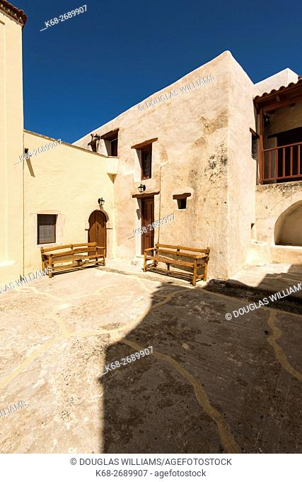 Moni Kato Preveli, monastery, Rethimno, Crete, Greece