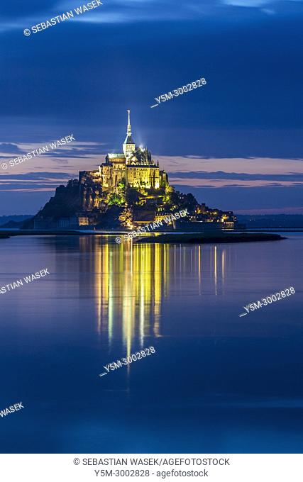 Saint Michael's Mount, Normandy, France, Europe
