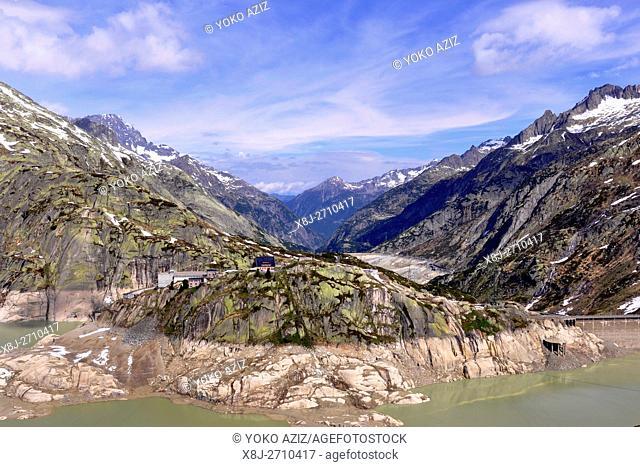 Dam, Grimsel pass,Switzerland