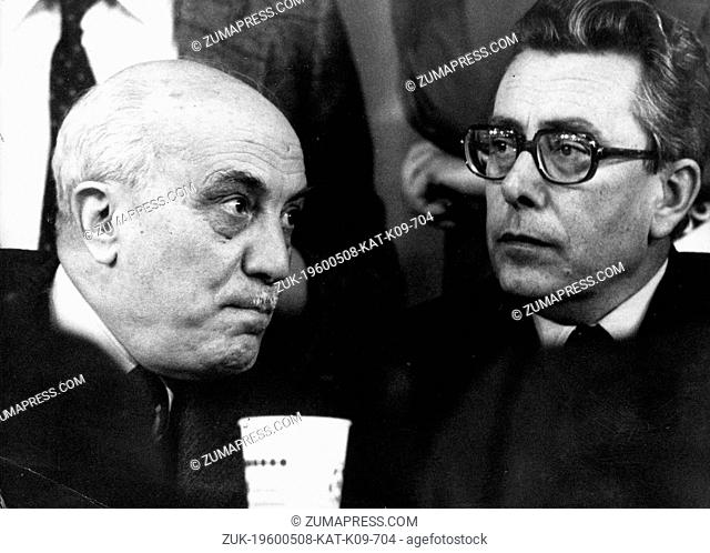 May 8, 1960 - Location Unknown - ARNALDO FORLANI, born December 8, 1925, is a politician who served as Italy's Foreign Minister and later their Prime Minister