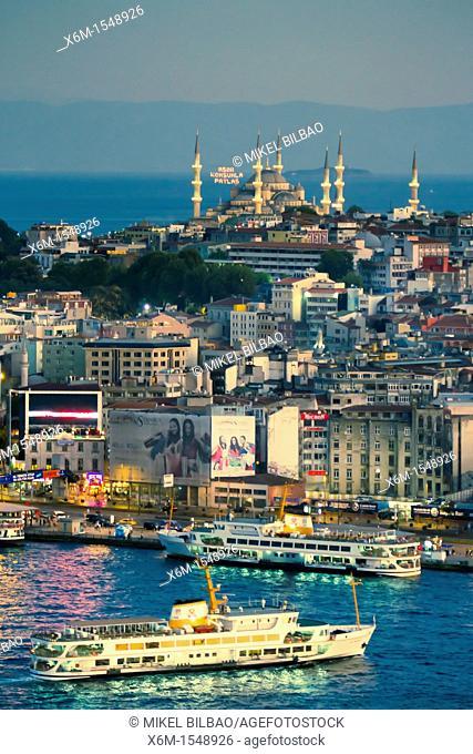 Golden Horn  Istanbul, Turkey