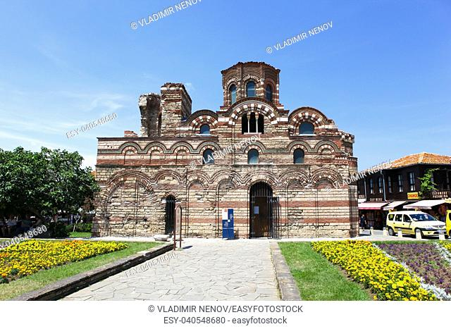 NESEBAR, BULGARIA - June 21, 2018: Nesebar is an ancient city and one of the major seaside resorts on the Bulgarian Black Sea Coast, located in Burgas Province