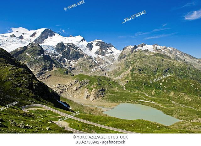 Susten pass, Canton Uri, Switzerland