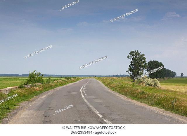 Romania, Danube River Delta, I.C. Bratianu, Delta road