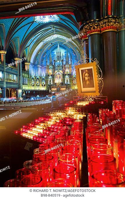 Montreal, Quebec, Canada, Notre Dame Basilica