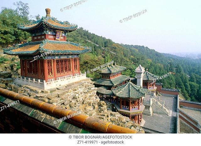 Wanshoushan (Longevity Hill) of Summer Palace, Beijing. China