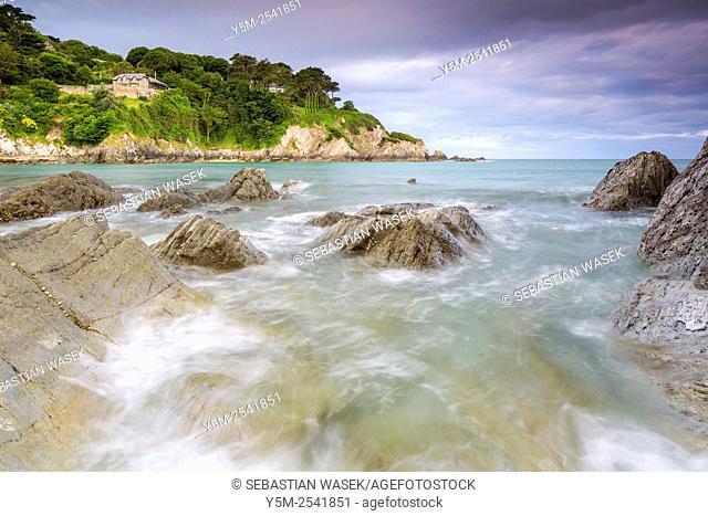 Lee Bay, North Devon, England, United Kingdom, Europe