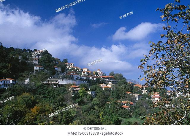 Ano Doliana village  Arcadia, Peloponnese, Greece