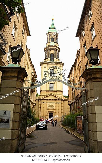 Sophienkirche. Spandauer Vorstadt. Berlin, Germany, Europe