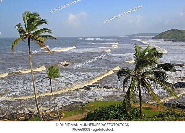 Goa in western coast of India