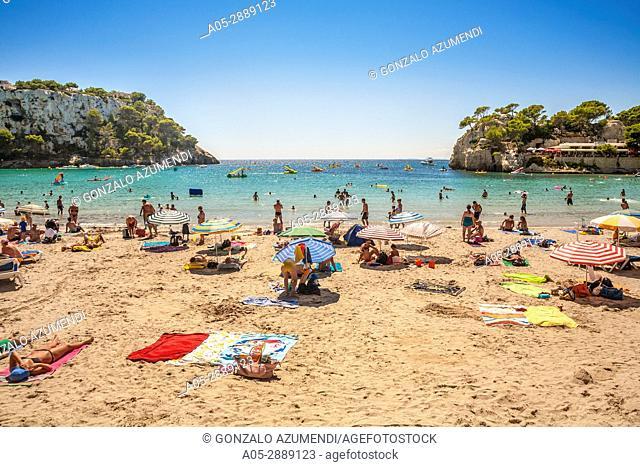 Cala Galdana. Minorca, Balearic Islands, Spain
