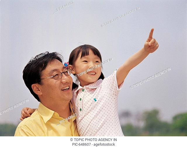 Father and Daughter,Korea