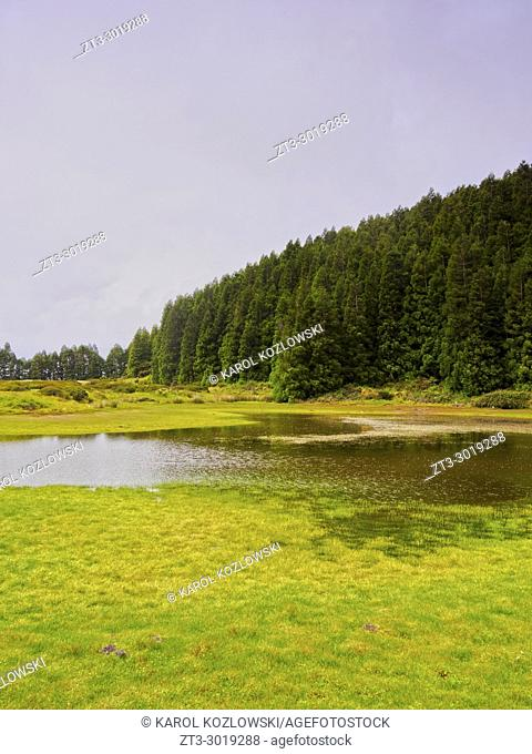 Lagoa do Negro, Terceira Island, Azores, Portugal
