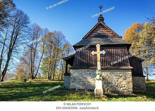 Wooden Church of St. Cosmas and Damian - Lukov