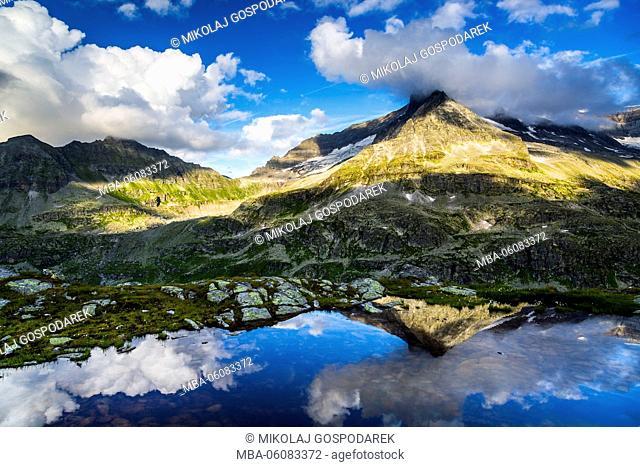 Austria, National Park Hohe Tauern, Salzburger Land, Uttendorf, Weißsee, Weißsee Glacier World, Summer Austria