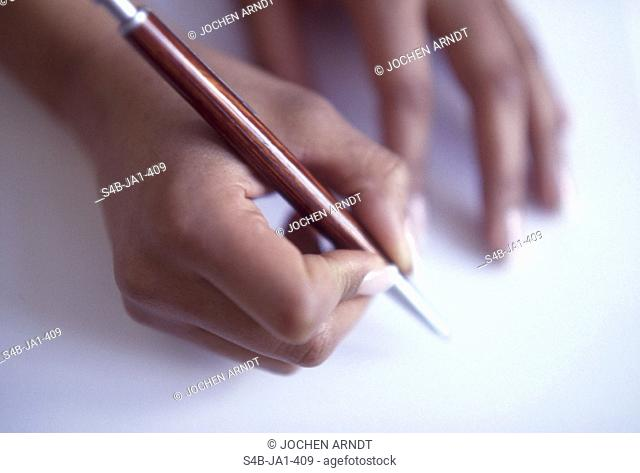 Schreibende Frauenhaende | Writing Woman's Hands | fully-released