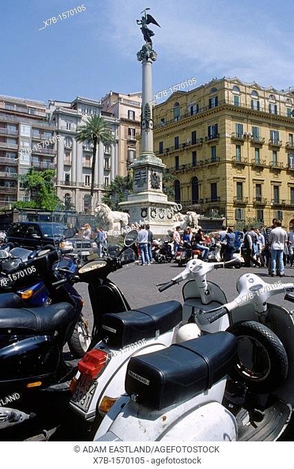 Naples  Italy  Piazza dei Martiri