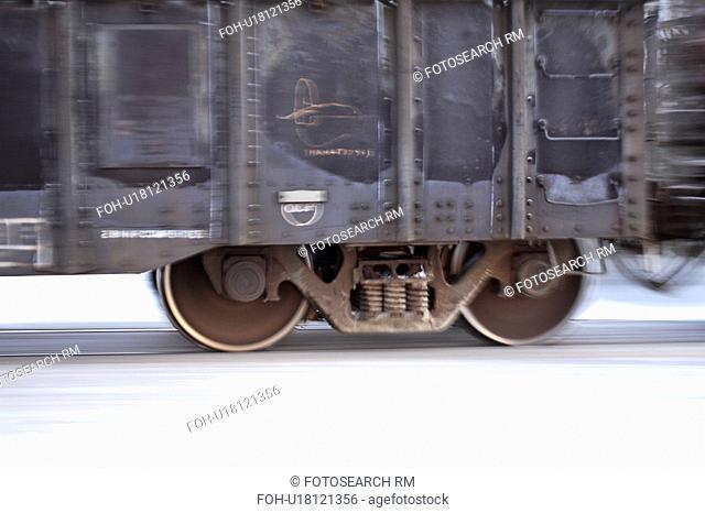 cars, crossing, road, passing, rail