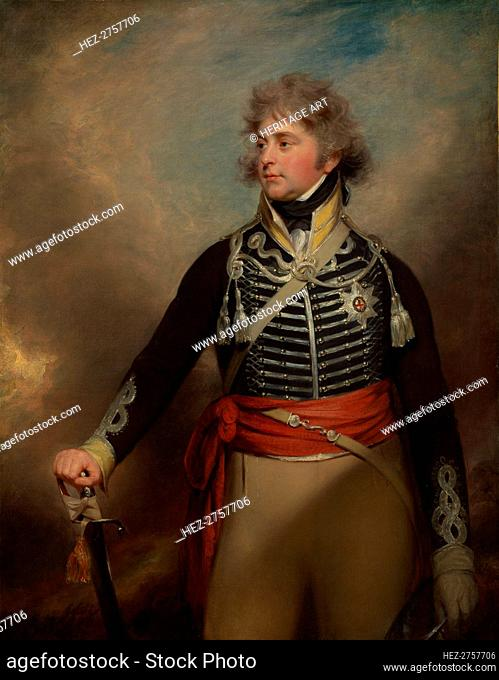 George IV (1762-1830), When Prince of Wales. Creator: Sir William Beechey